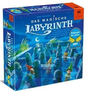 Drei Magier Spiele 40848 Das magische Labyrinth Schmidt Spiele Kinderspiel des Jahres 2009 Cover Karton Schachtel Produkttest Test