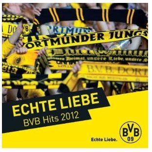 Echte Liebe-BVB Hits 2012 Various Amazon Download MP3 Borussia Dortmund Deutscher Meister 2012