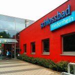 Eingang Schlossbad Niederrhein Mönchengladbach Wickrath