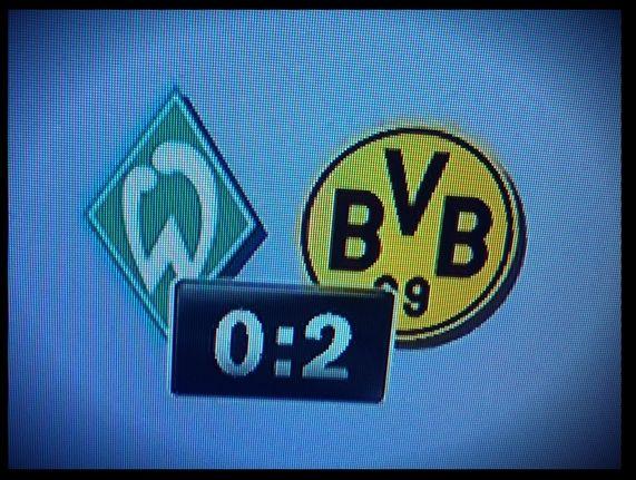 Endergebnis Werder Bremen Borussia Dortmund