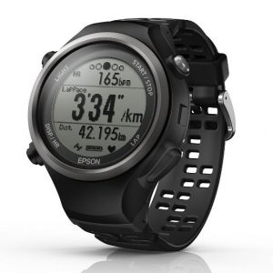 Epson GPS-Sportuhr Runsense SF-810 810B Schwarz