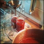 Erdbeer-Rhabarber-Marmelade Rezept Konfitüre Gläser