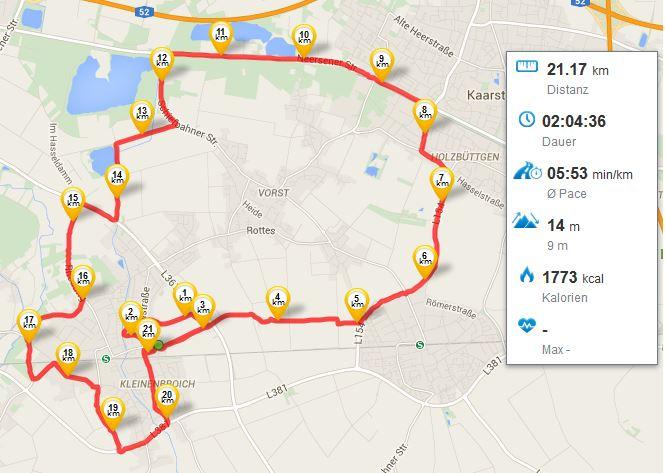 Erster Halbmarathon 28022015 Running Laufen