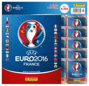 Euro 2016 France Sticker Starter-Set Panini