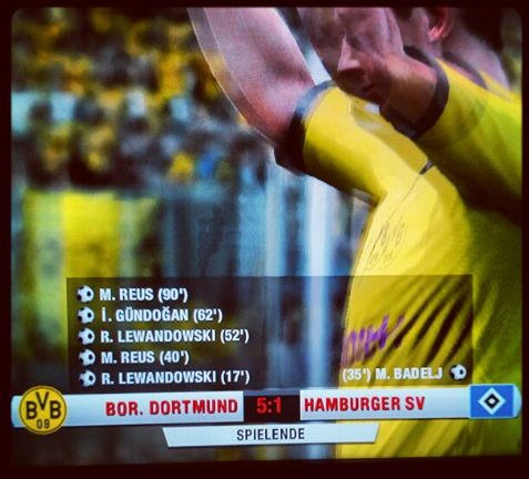 FIFA 13 Screenshot Playstation 3 BVB HSV