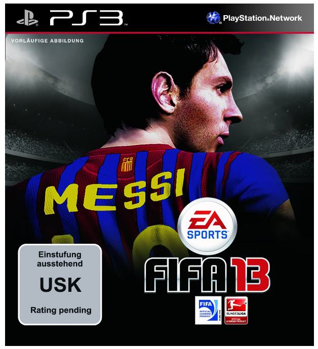 FIFA 13 amazon Cover Vorbestellung EA Sports