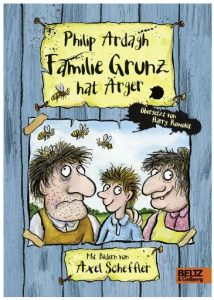 Familie Grunz hat Ärger Roman für Kinder Amazon Cover Rezension