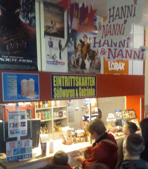 Filmbühne Kino Grömitz Ticket Eintrittskarte Schalter