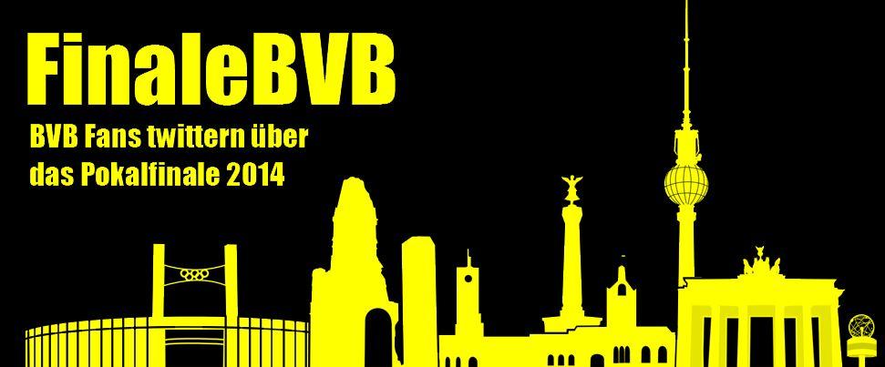 FinaleBVB - BVB Fans twittern über das DFB Pokalfinale 2014