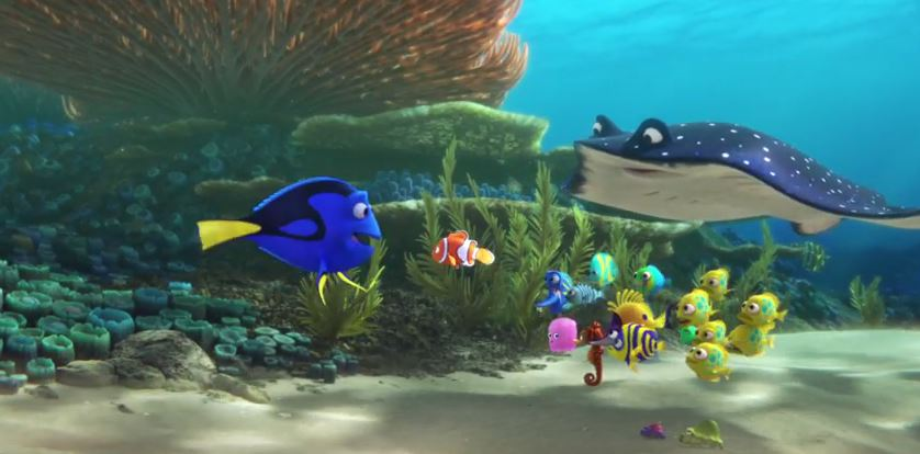 Finding Dory – UK Teaser Trailer Pixar YouTube