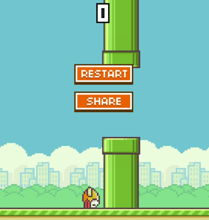 Flappy Bird Browser Spiel Game