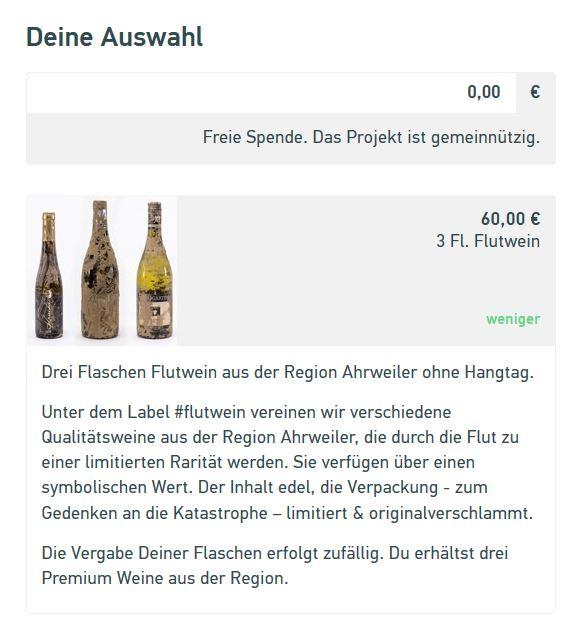 Flutwein Gemeinsam für die Weinregion Ahrweiler