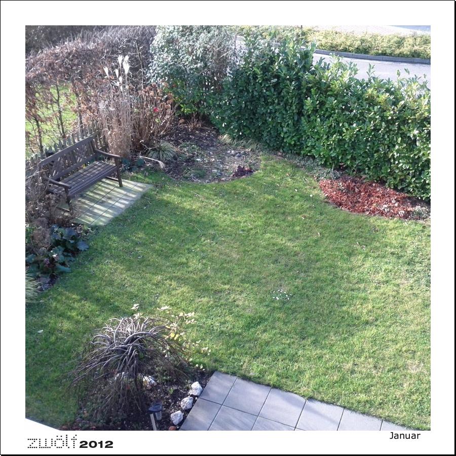 Fotoprojekt zwölf2011 Garten 01 2012 Rahmen