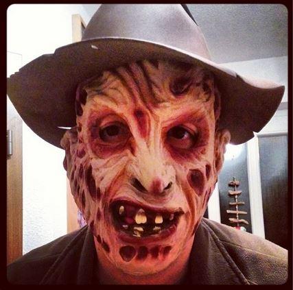 Freddy Krüger Karneval Fasching Maske Hut