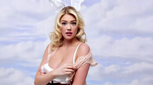 Frohe Ostern Screenshot Happy Easter from Kate Upton YouTube