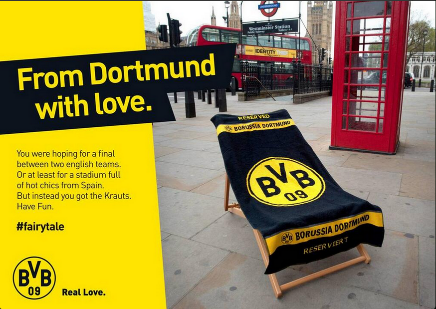From Dortmund with Love #fairytale #FinaleBVB