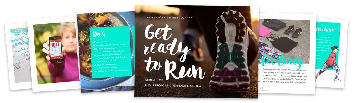 GET READY TO RUN – Der Guide zum erfolgreichen Laufeinstieg Cover