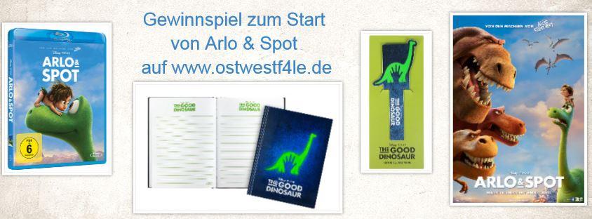 Gewinnspiel Arlo & Spot
