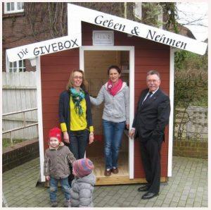Givebox Kleinenbroich Korschenbroich Ostermarkt