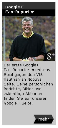 Google+ Fan-Reporter Norbert Dickel BVB Borussia Dortmund Newsletter