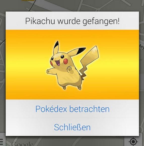 Google Maps Aprilscherz easter egg Pikachu Pokemon