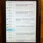 Google Nexus 7 Reader Feedreader Display