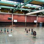 Handball Sporthalle Math Nath Mönchengladbach Welfia E1 HG Kaarst Büttgen