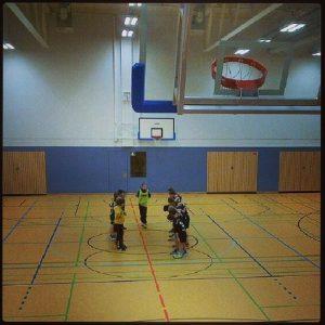 Handball Stadtparkhalle HG Kaarst Büttgen E1 VfL Welfia Mönchengladbach