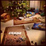 Heilig Abend Bescherung Geschenke Weihnachten