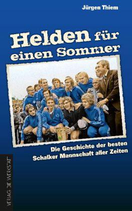 Helden für einen Sommer Jürgen Thiem Cover Rezension Verlag Die Werkstatt