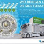 Hermes - Offizieller Premium-Partner der Bundesliga Hermes Fan Tour 2013
