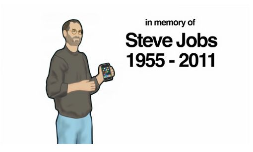 History of the iPhone dedicated to the memory of Steve Jobs