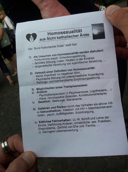 Homosexualität aus Sicht katholischer Ärzte