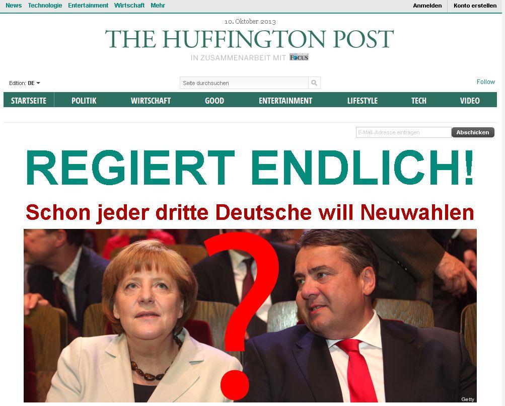 Huffington Post Deutschland – Nachrichten und Meinungen