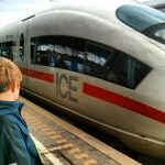ICE Paderborn Hauptbahnhof Liam Heimfahrt Herbst 2013 OWL Ostwestfalen
