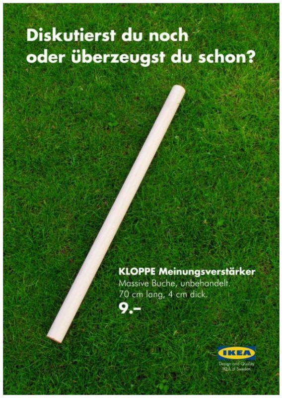 Ikea Kloppe Meinungsverstärker