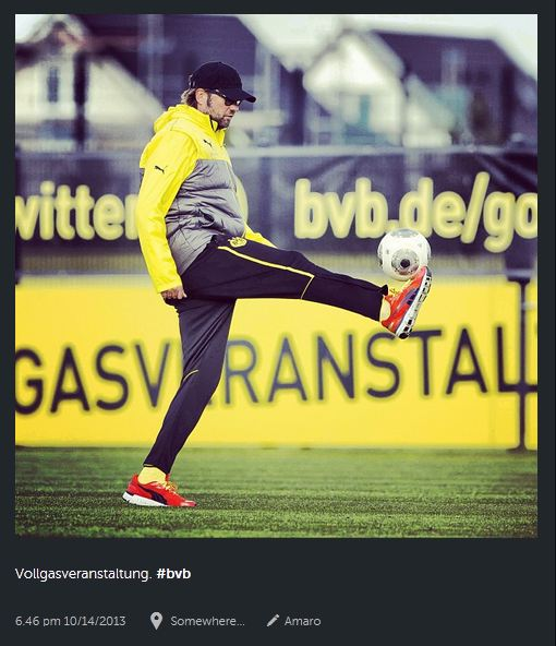 Instagram photo by @bvb09 (Borussia Dortmund) 14.10.2013