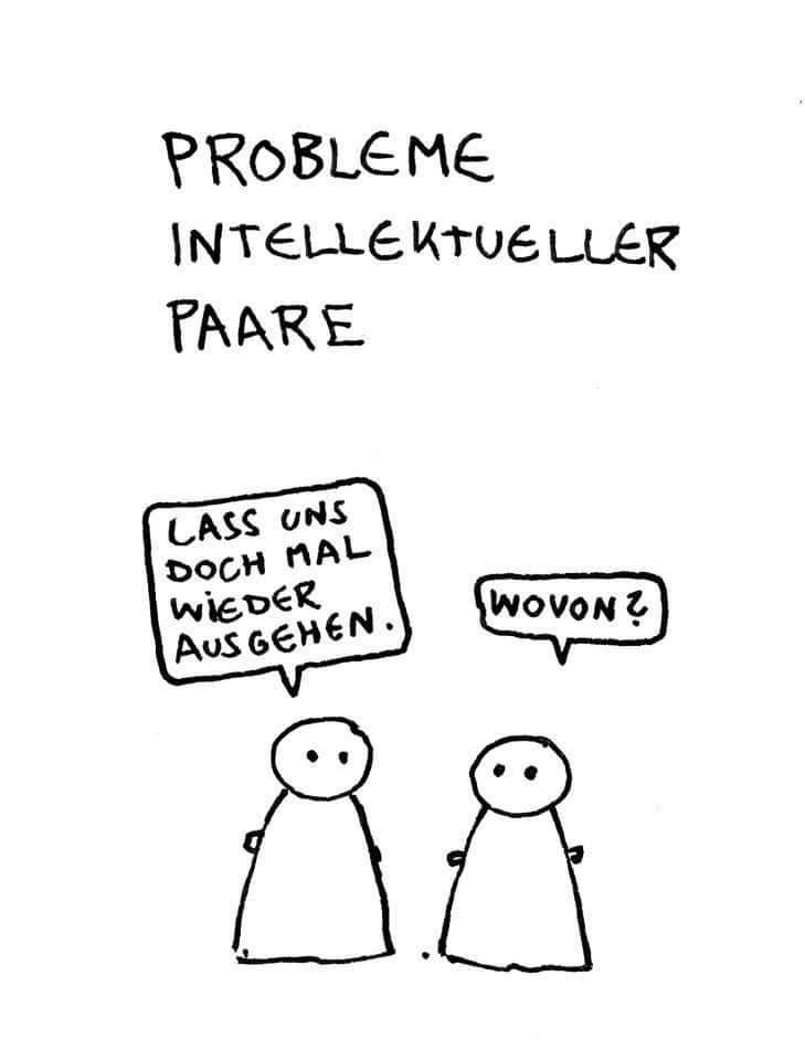 Intellektuelle SZ Probleme