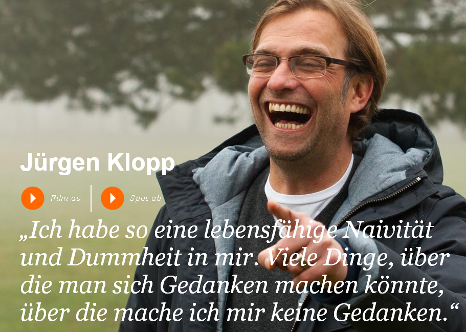 Jürgen Klopp Video YouTube Was uns antreibt – Volksbanken Raiffeisenbanken