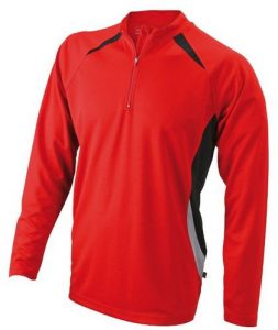 James & Nicholson Herren Running Langarm Shirt