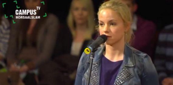 Julia Engelmann YouTube Video Screenshot Hörsaalslam
