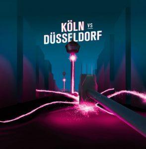 Köln vs. Düsseldorf Logo