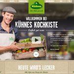 Kühnes Kochkiste Webseite