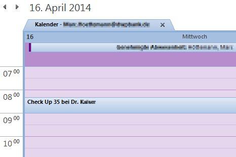 Kalender Arzt Untersuchung Check Up 35