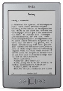 Kindle, 15 cm (6 Zoll) E Ink-Display, WLAN, Silbergrau Amazon