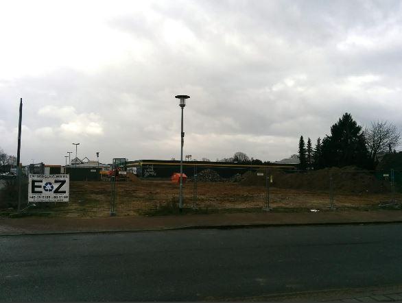 Kleinenbroich dm Markt Baustelle März 2014