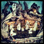 Krippe Weihnachten Heiligabend Hallenbad Büttgen Engel Maria Josef Jesuskind