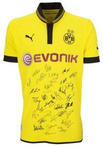 Kurzarm Unterschriften Trikot BvB 09 Borussia Dortmund HEIM 20132013 XL Amazon
