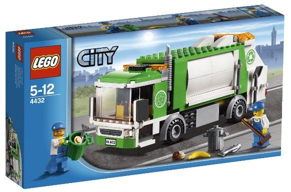LEGO City 4432 - Müllabfuhr Amazon Test Produkttest