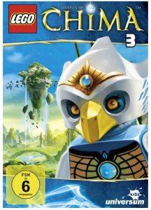 LEGO Legends of Chima DVD 3 Staffel Rezension Cover Produkttest